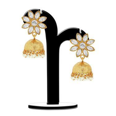 Spargz Brass Metal Earring_Aier381