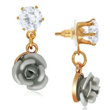 Spargz Alloy Metal Earring_Aier532