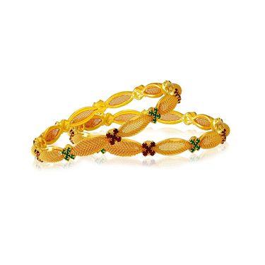 Spargz Brass Metal Bangle_Aib034
