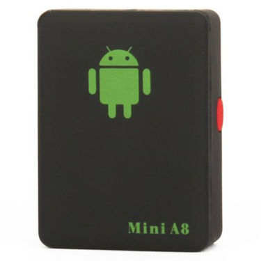 ZINGALALAA smallest Mini A8 G.S.M GPS/GPRS Personal Position Tracker - Black