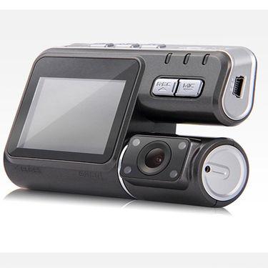 ZINGALALAA LIMTECH® 8GB SD Card + 1080P Dual Lens IR Night Vision Car DVR Camera Dash Cam Video Recorder Motion Detection