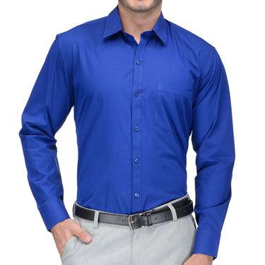 Being Fab Cotton Formal Shirt_Bfs10 - Blue