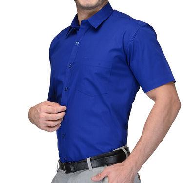 Being Fab Cotton Formal Shirt_Bfs17 - Blue