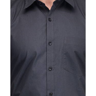 Being Fab Cotton Formal Shirt_Bfs30 - Dark Grey