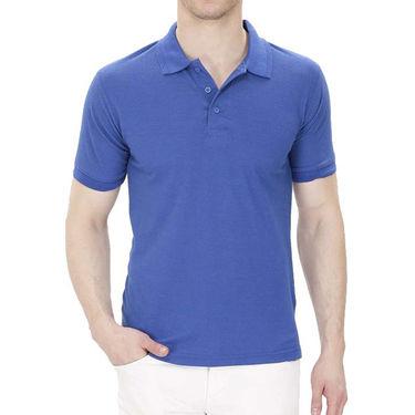 Pack of 2 Oh Fish Plain Polo Neck Tshirts_P2gryblu - Grey & Blue
