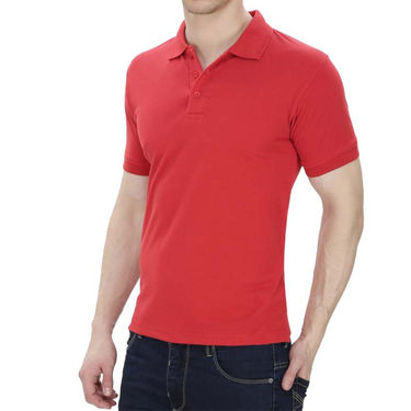 Pack of 3 Oh Fish Plain Polo Neck Tshirts_P3gryblured