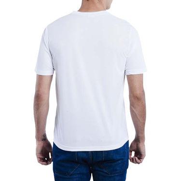 Pack of 3 Oh Fish Plain Round Neck Tshirts_Df3redwhtblu