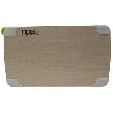 DGB Dime U2 Multi functional Laptop Table (Wood) - Wooden
