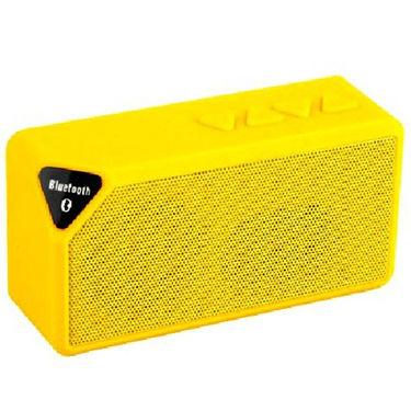 DGB Monk X3 Portable Bluetooth Speakers (Yellow)