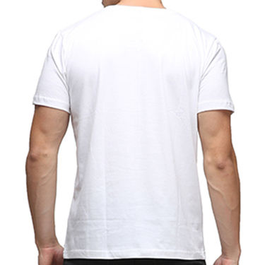 Effit Half Sleeves Round Neck Tshirt_Etscrn030 - White
