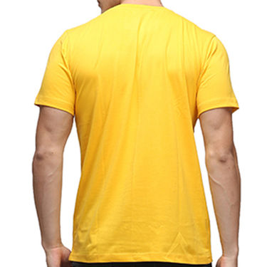 Effit Half Sleeves Round Neck Tshirt_Etscrnl012 - Yellow