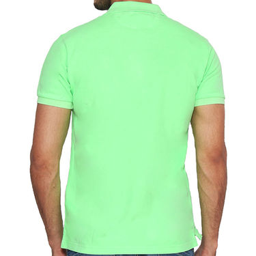 Branded Cotton Casual Tshirt_Gnt02 - Green