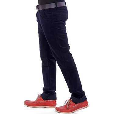 Plain Corduroy Trouser_Gkcorduroyn - Navy