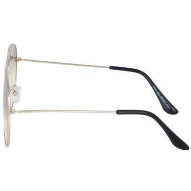 Alee Aviator Metal Unisex Sunglasses_Rs0203 - Grey