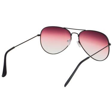 Alee Aviator Metal Unisex Sunglasses_Rs0207 - Pink