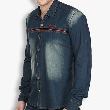 Stylox Cotton Shirt_dbdenm213 - Dark Blue