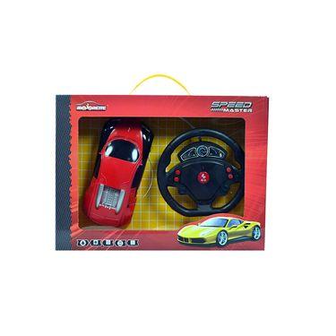 Majorette Speed Master Car with Gravity Sensor Steering Wheel Red Aventador