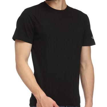 Rico Sordi 100% Cotton Tshirt For Men_Rnt019 - Black