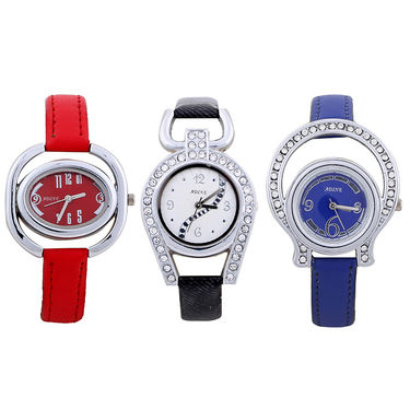Pack of 3 Adine Wrist Watches For Women_AD50011