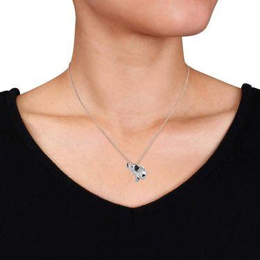 Kiara Swarovski Signity Sterling Silver Tejashree Pendant_KIP0620