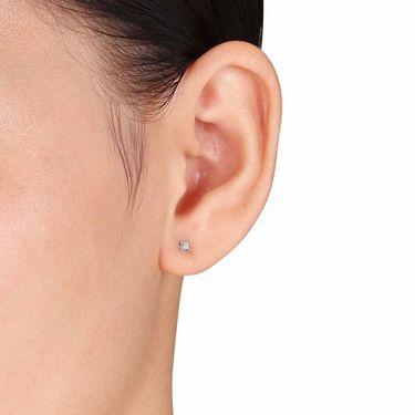 Kiara Swarovski Signity Sterling Silver Mumbai Earring_KIE0441