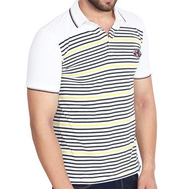 Branded Cotton Slim Fit Tshirt_Fcky02 - Yellow