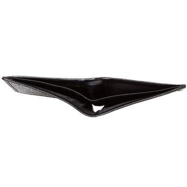 Spire Stylish Leather Wallet For Men_Smw107 - Black