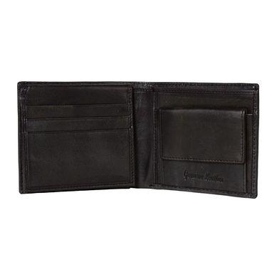 Spire Stylish Leather Wallet For Men_Smw130blk - Black