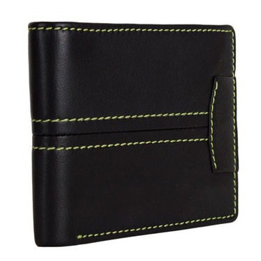 Spire Stylish Leather Wallet For Men_Smw144 - Black