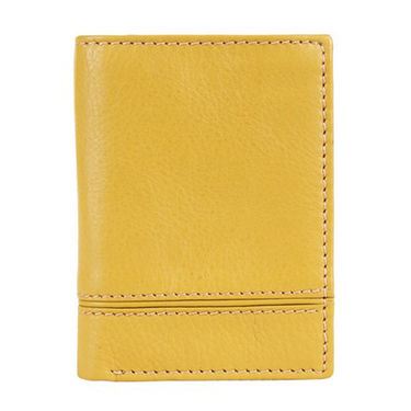 Spire Stylish Leather Wallet For Men_Smw152lem - Brown