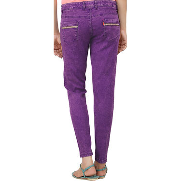 Pack Of 3 Uber Urban Slim Fit Stretchable Colored Denims