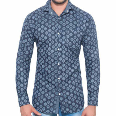 Pack of 3 Printed Cotton Casual Shirts_A50435