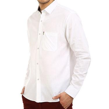 Pack of 5 Fizzaro Plain 100% Cotton Casual Shirts_Plcs012345