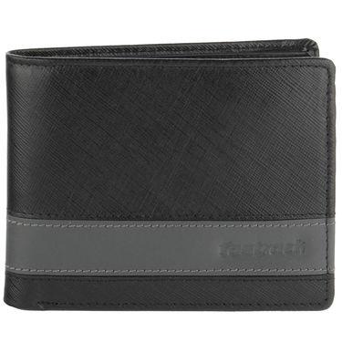 Fastrack Leather Wallets For Men_C0381lbk01 - Black