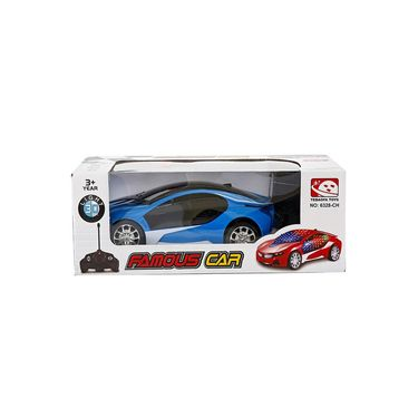 BMW i8 3D Remote Control Rechargeable Lightning Car Toy Blue