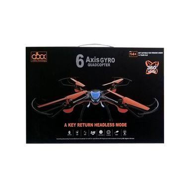 6 Axis Gyro Quadcopter  with a Key Return Headless Mode & Camera - Black Orange