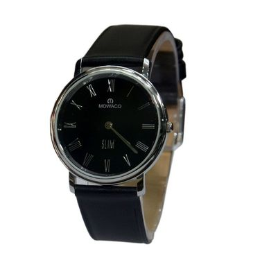 Branded Round Dial Analog Wrist Watch For Men_2305sml01 - Black