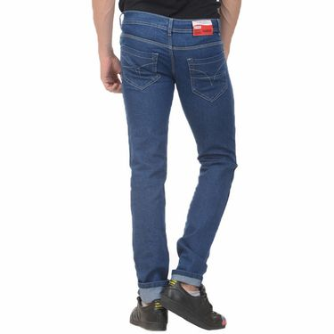 Plain Slim Fit Denim Jeans_Jnvgn1 - Blue