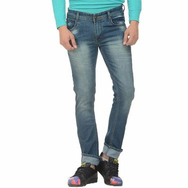 Forest Faded Slim Fit Denim Jeans_Jnfrt5 - Blue