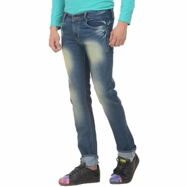 Forest Faded Slim Fit Denim Jeans_Jnfrt6 - Blue