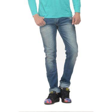 Forest Faded Slim Fit Denim Jeans_Jnfrt15 - Blue
