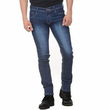 Pack of 2 Plain Slim Fit Jeans_Jnwtx12 - Blue