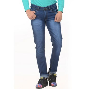 Pack of 2 Forest Plain Slim Fit Jeans_Jnfrt711 - Blue