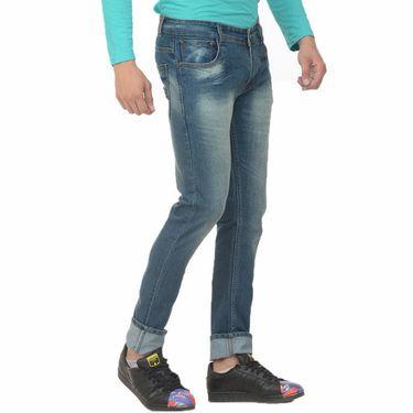 Pack of 2 Forest Plain Slim Fit Jeans_Jnfrt910 - Blue