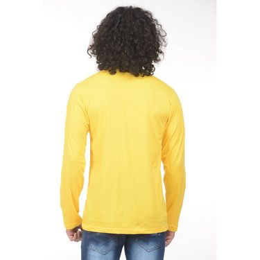 Pack of 2 Plain Regular Fit Tshirts_Htvrby - Blue & Yellow