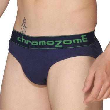 Pack of 3 Chromozome Regular Fit Briefs For Men_10010 - Multicolor