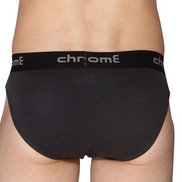 Pack of 3 Chromozome Regular Fit Briefs For Men_10184 - Multicolor