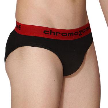 Pack of 3 Chromozome Regular Fit Briefs For Men_10189 - Multicolor