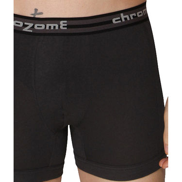 Pack of 3 Chromozome Regular Fit Trunks For Men_10375 - Multicolor