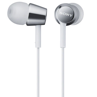 Sony MDR-EX150 In-Ear Earphones Without Mic (White)